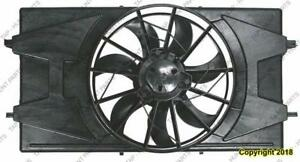 Radiator Cooling Fan Assembly 2.2/2.4L Sedan/Coupe Saturn Ion 2005-2007