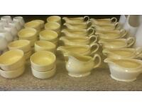 Joblot of gravy boats and sugsr/dip bowls