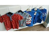 Boys 4-5yrs NEXT christmas jumper tshirt bundle