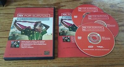 Rx For Survival: A Global Health Challenge (DVD) WGBH Boston Video Brad Pitt