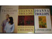 Joanna Trollope books, 75p - £1 each