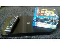 Samsung 3D blue ray dvd player