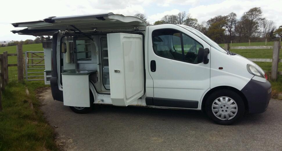 Vauxhall Vivaro Sandwich Catering Coffee Van Benjy Conversion