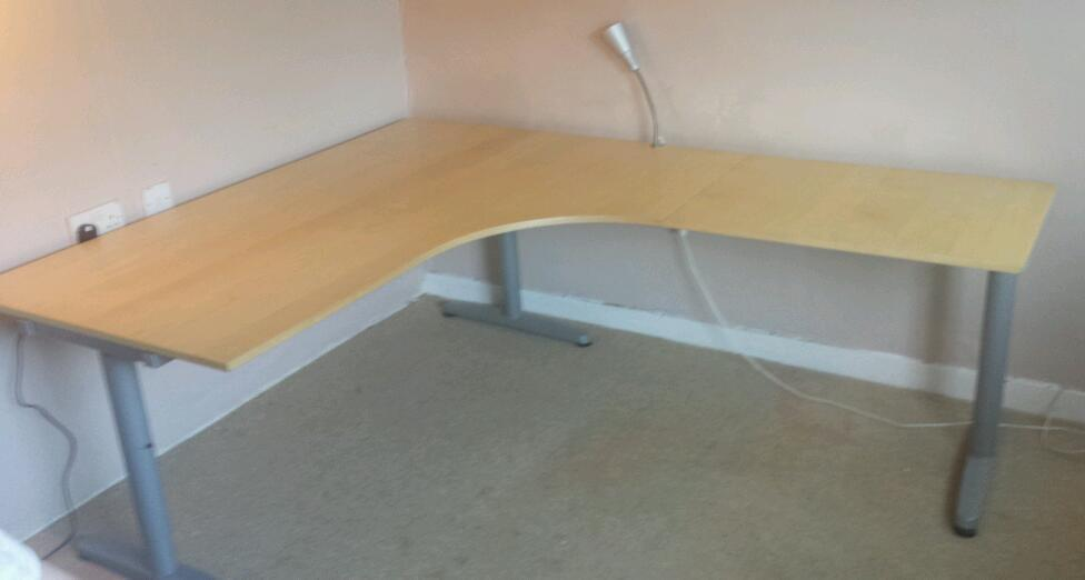 ikea galant desk in bishopbriggs glasgow gumtree