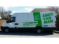 'Andy Van Man' From single item to full house removals. Insured & CRB checked. The ones to trust!