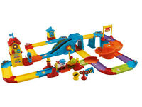 Vtech Toot Toot train station and track - used