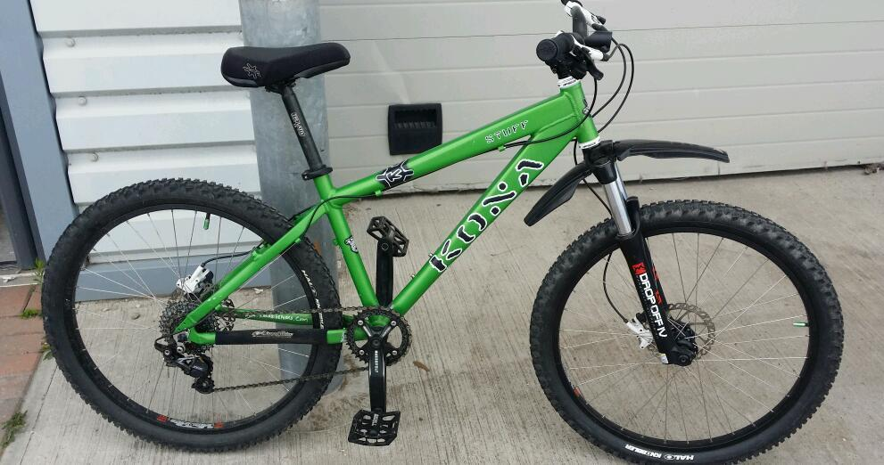 Kona stuff mountain bike for sale in exeter devon gumtree