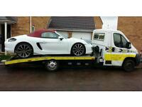 vehicle car recovery breakdown service 24hrs Leicester M1 J22 J21 J20 M69 collection & transporting