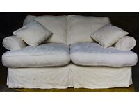 3-seater sofa with 2 scatter cushions in time for Christmas