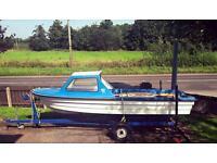 17ft cabin boat