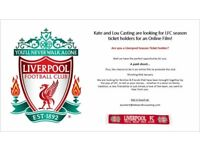 Looking for Liverpool FC Season Ticket Holder - research for online film