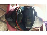 Motorcycle helmet hjc