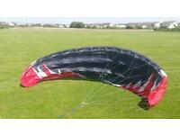 Power kite, flexifoil blade 4, 4.9m