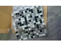 4 Sheets of Mosaic Tiles