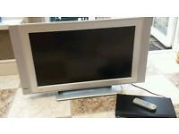 "Philips 32"" LCD TV plus Toshiba DVD video player"