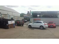 Car Wash & Tyre Garage Business For Sale - Busy Main Road Location - High Weekly Turn Over