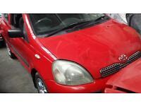 Toyota yaris breaking 2001 y reg