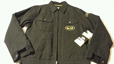 NOR CAL Men's  zip-up Work Jacket Grease Monkey Style - Grease Jackets
