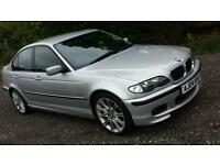 BMW 320D SPORT AUTO SILVER 2004 59K ( not 330 325 ) harman karman audio