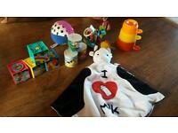 Set of toys for baby/ toddler