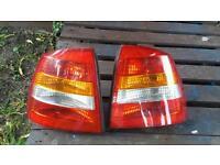 Vauxhall astra rear lights