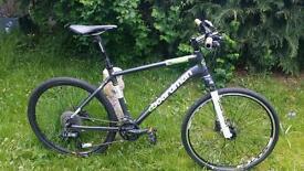 Cboardman team r hybrid mountain bike 18 medium sized frame £350 ono.