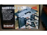 Mortice and tennon jig