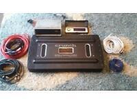 1000 watt amp + sony CD player