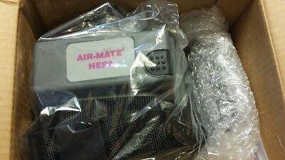 New 3M 520-03-63R01 Air-Mate Powered Air Respirator PAPR battery msaglot belt mt