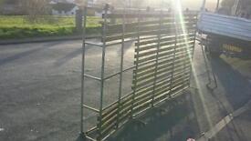Landrover defender roof rack ladder