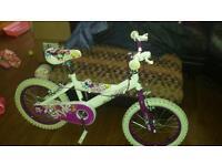 "Girls 12"" bike mint condition"