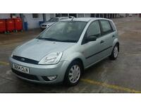 54 PLATE FORD FIESTA 1.4, 5 DOOR. 44K Drives Superb