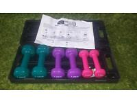 Pro Fitness Handheld mini dumbell weights