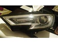 Audi a3 s3 rs3 2016 headlight xenon led drl