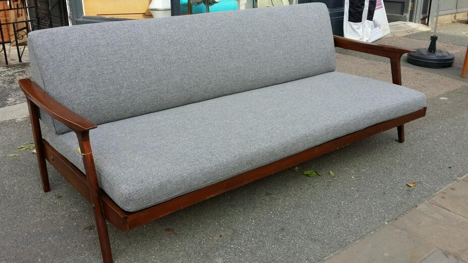 Guy Rogers Sofa Bed Danish Style Mid Century Retro Vintage