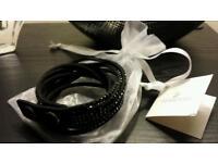 Swaroski Black Slake Wrap Around bracelet. New in packaging with label.