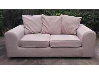 Light brown sofa ** FREE DELIVERY WITHIN 10 MILES OF DERBY **