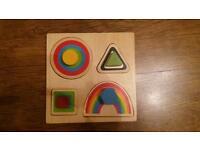 Educational ELC wooden puzzle