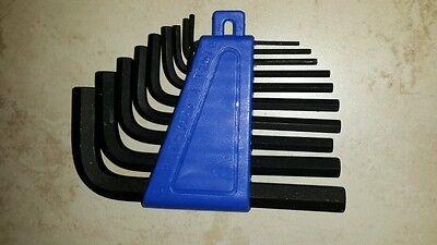 Halfords professional advanced Metric 10 Piece Allen Key Hex set. 1.5mm to 10m