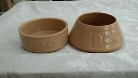 Mason cash dog bowls