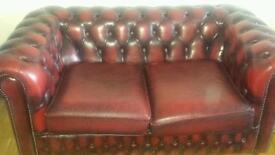 Chrsterfeild sofa