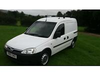 Vauxhall combo 1.3 cdti roof rack and new towbar