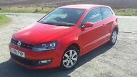 VW POLO 1.2 3DR FULL MOT 43000 miles