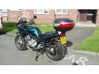 Yamaha Diversion 600cc 10 months mot
