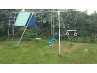 TP climbing frame with swings