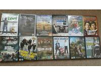 12 DVDs