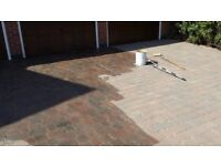 DRIVEWAY SEALER, SEMI GLOSS, MONOBLOCK / PATIO SEALER, 20 LITRE DRUM
