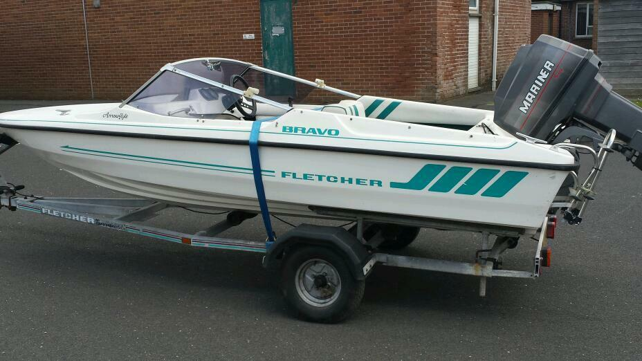 Fletcher 16 ft speed boat with 60hp in Dundonald  : 86 from www.gumtree.com size 928 x 522 jpeg 75kB