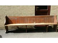 LARGE SOLID CHAPEL PEW - OFFERS