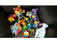 Bundle job lot 1 baby toddler toys 12 items